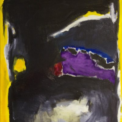 CRAZY YELLOW-2, oil, canvas, 70x90 cm, 2013, 950 EUR