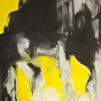 CRAZY YELLOW-3, oil, canvas, 70x90 cm, 2013, 950 EUR