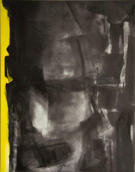 CRAZY YELLOW-4, oil, canvas, 70x90 cm, 2013, 950 EUR