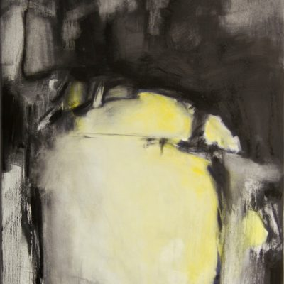 CRAZY YELLOW-5, oil, canvas, 70x90 cm, 2013 m, 950 EUR