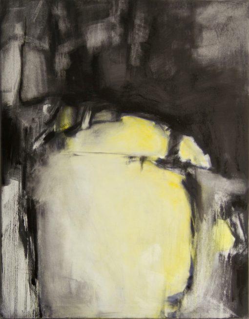 CRAZY YELLOW-5, oil, canvas, 70x90 cm, 2013 m, 950 EUR