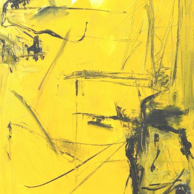 CRAZY YELLOW-7, oil, canvas 70x90cm, 2015, 950 EUR