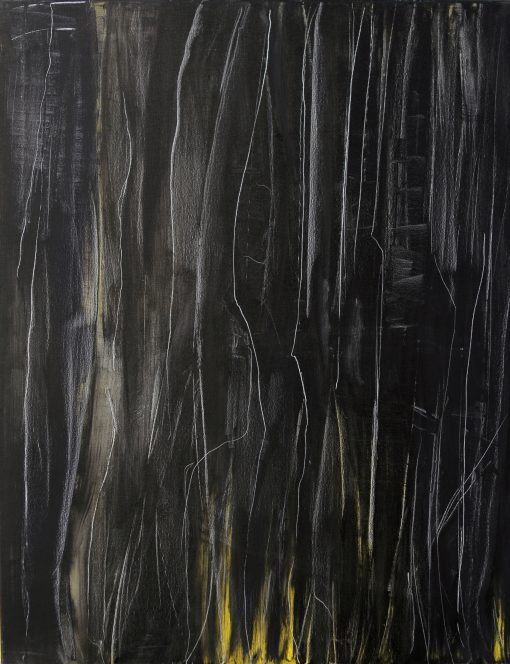 CRAZY YELLOW-9, oil, canvas 70x90cm, 2015; 950 EUR