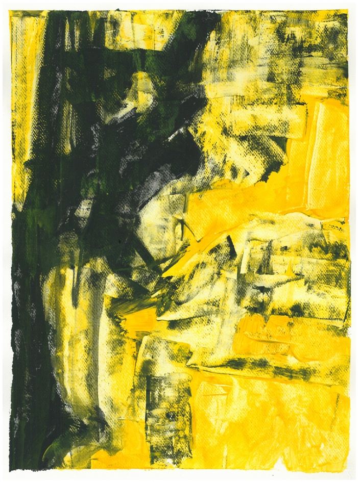 CRAZY YELLOW, sketch 1
