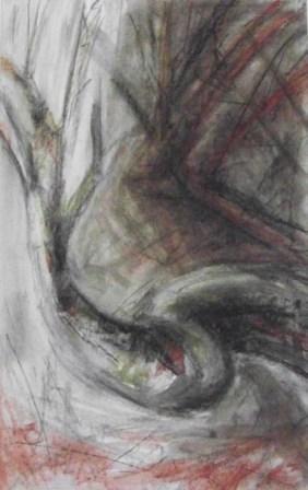 DREAMS-1, pastel, paper, 42x58cm, 2009, 500 Lt: 144 EUR