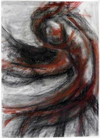 DREAMS-2, pastel, paper, 42X58cm, 2009, 500 Lt: 144 EUR