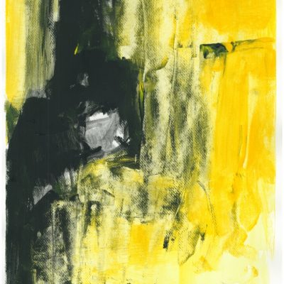 ETUDES YELLOW MADNESS 6, Acrylic, Paper, 30x40 cm, 2013 m.; 75 EUR