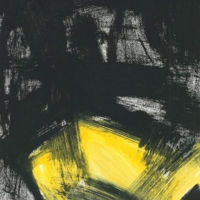 ETUDES YELLOW MADNESS 7, Acrylic, Paper, 30x40 cm, 2013 m.; 75 EUR