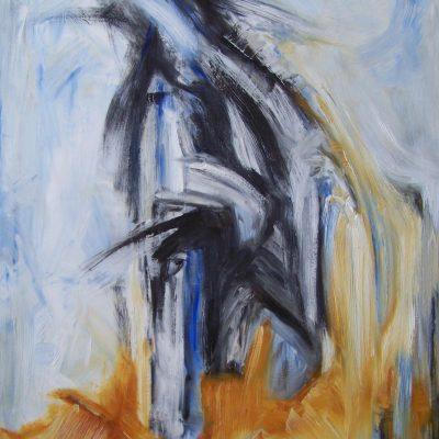 FLYING AWAY, oil, canvas, 60x80cm, 2013, 780 EUR