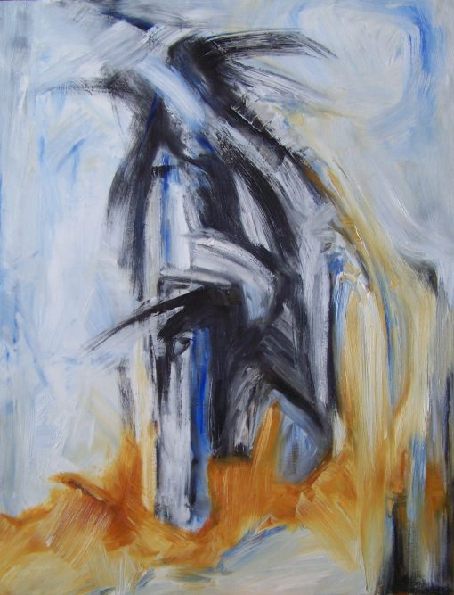FLYING AWAY, oil, canvas, 60x80cm, 2013, 780 EUR