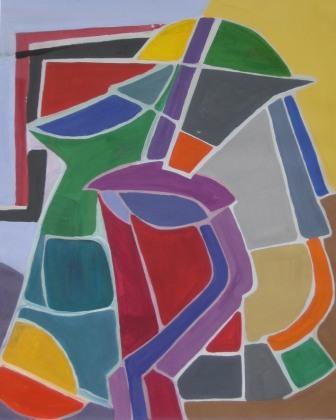 LIGHT STILL LIFE, 42x52 cm, tempera, paper, 2006, 490 Lt: 141 EUR