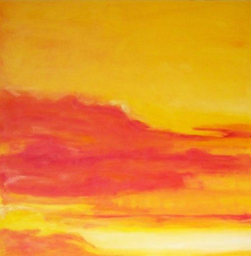 ORANGE, oil,canvas, 110x120cm, 2012 m, 1290 EUR