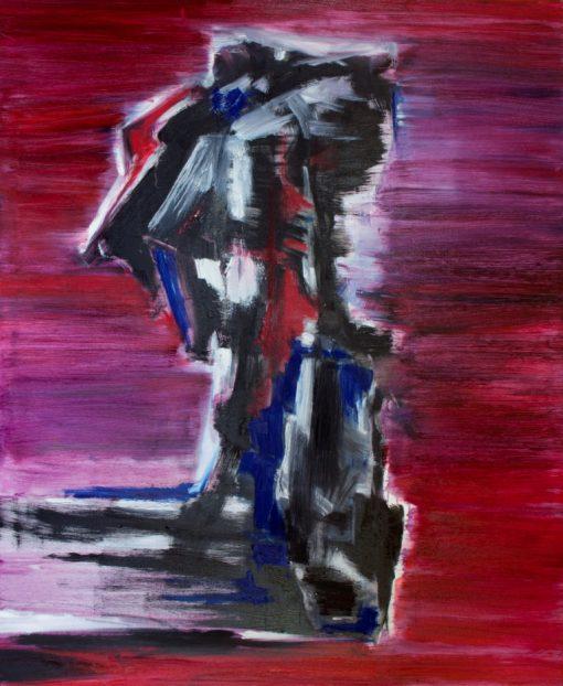 STAND AGAINST, canvas, oil, 100x120 cm, 2014, 1690 EUR