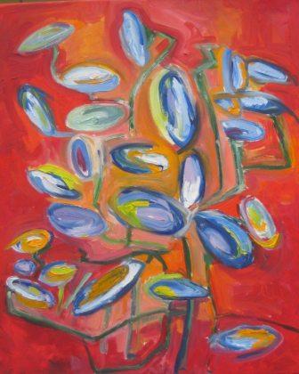 SUMMER-1, oil, canvas 50x60cm, 2008, sol