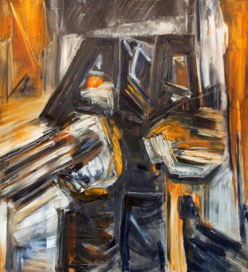 TWO LIARS, canvas, oil, 100x110 cm, 2014, 1290 EUR