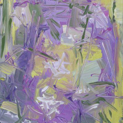 SUMMER FLOWER, canvas, acrylic, 30x50 cm 2014