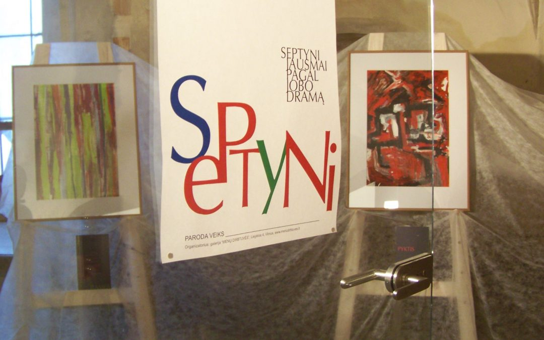 THE PAINTING EXHIBITION BY ARTIST BIRUTE NOMEDA STANKUNIENE AT VILNIUS BERNARDINAI CHURCH