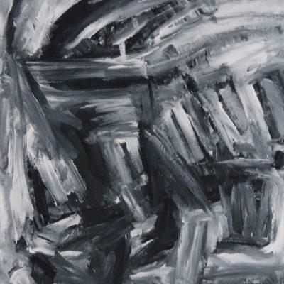 AGAINST THE WIND, acrylic, cardboad, 60x80 cm, 2012