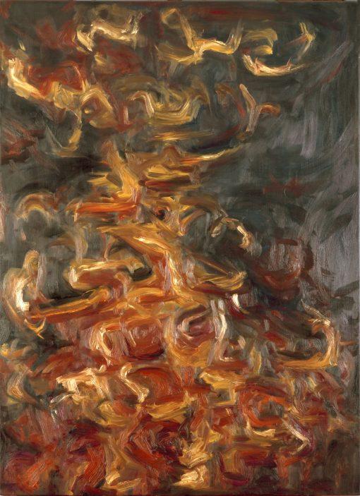 FALL, oil, canvas, 80x110, 2010