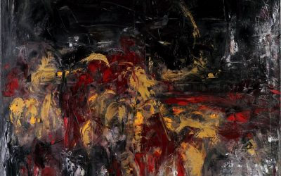 """Birutės Nomedos Stankūnienės tapybos darbų paroda """"KONTEMPLIACIJA"""", Galleria Immaginaria, Florencija, 2018 birželio 28 – liepos 15"""