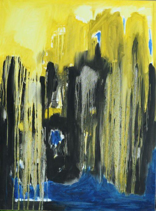 LAST CONVERSATION, oil, canvas, 90x120 cm, 2014
