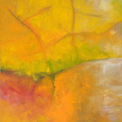 MAPLE LEAF 2 oil canvas 80x90x2cm 2009