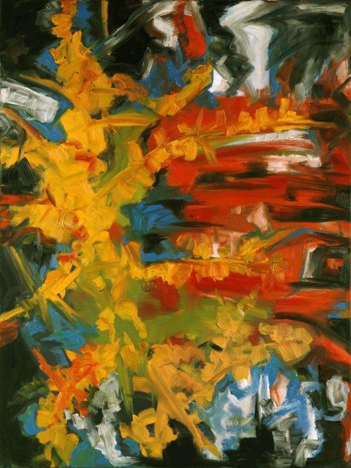 SEA BUCKTHORN, oil, canvas, 90x120cm, 2010