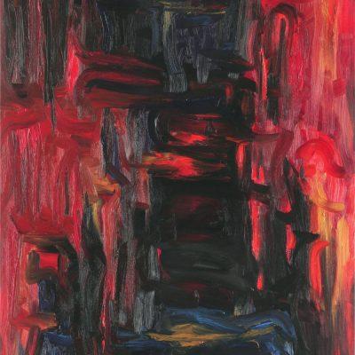 STIGMA-2  oil canvas 70x90x2cm  2010 1000X1280 HIGHEST - Kopija