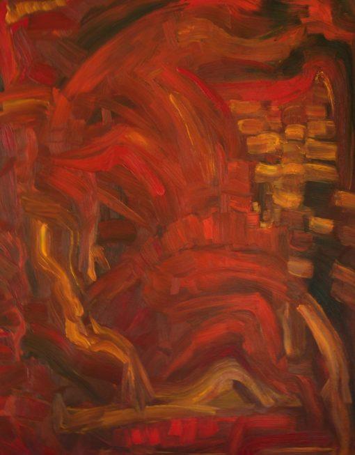 THE HEAT  oil canvas 70x90x2cm 2010 1000x1280 highest