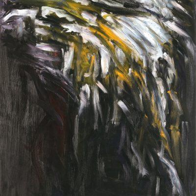 THE SNOW CALMED THE EARTH oil canvas 70x90x2cm 2010 1000X1280 highest