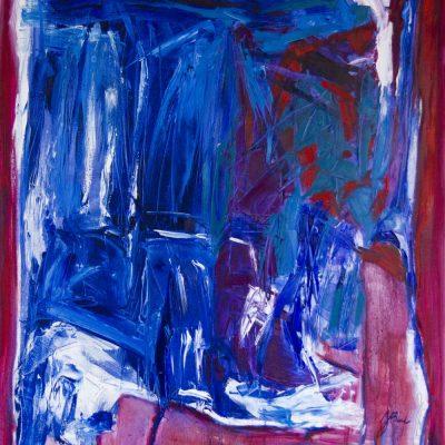 THE WORLD - 1, oil, canvas,  100x120 cm