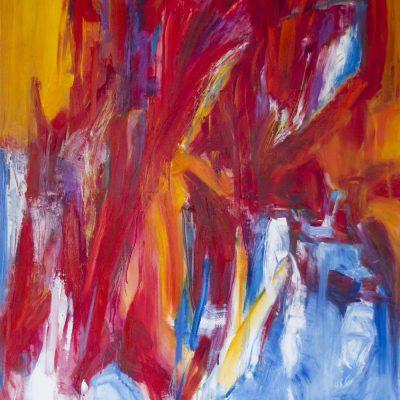 THE WORLD - 2, oil, canvas,   100x120cm