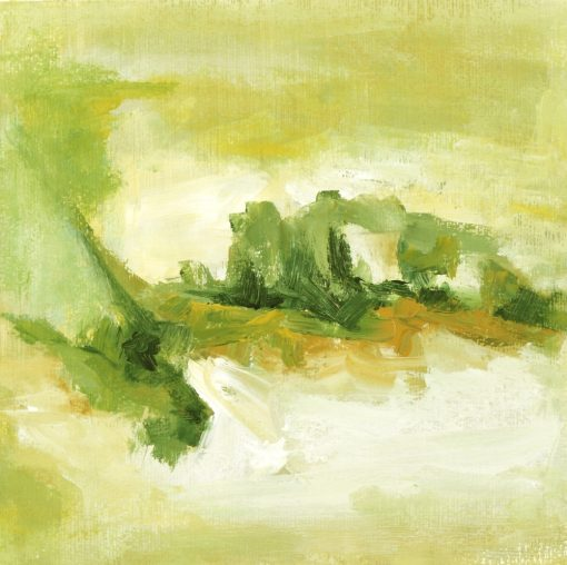 WIND OF SUMMER-2, paper for acrylic,  27x27cm ,2011
