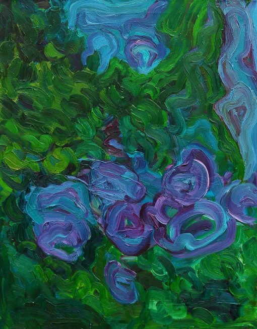 Waiting Blossoms of Liliac 70x90x2cm 2012 2013
