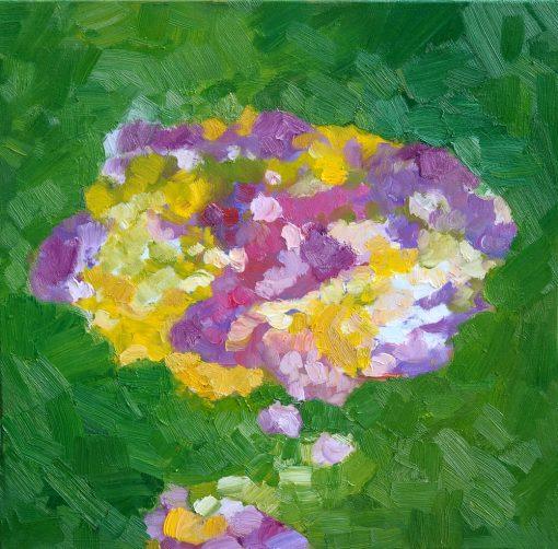 I WISH, 50X50X2cm, oil. canvas 2012-2015
