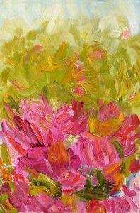 SOMEWHERE, oil, canvas, 40x60x2cm