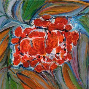 SORBAPPLE AGAIN ,50x50x2cm 2015,