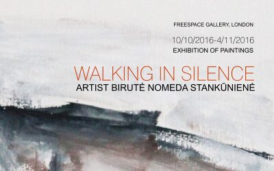 'WALKING IN SILENCE' AT THE FREE SPACE GALLERY, LONDON