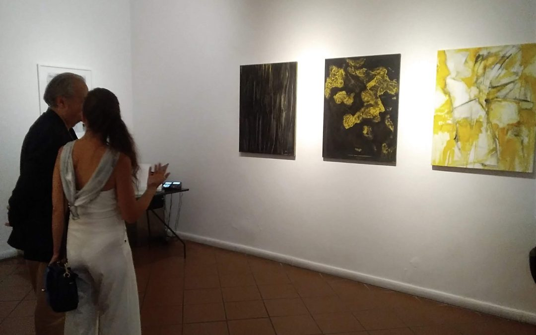 """CONTEMPLATION"" – EXHIBITION OF PAINTING AT ""GALLERIA IMMAGINARIA"", FLORENCE 28/06/18 – 15/07/18"