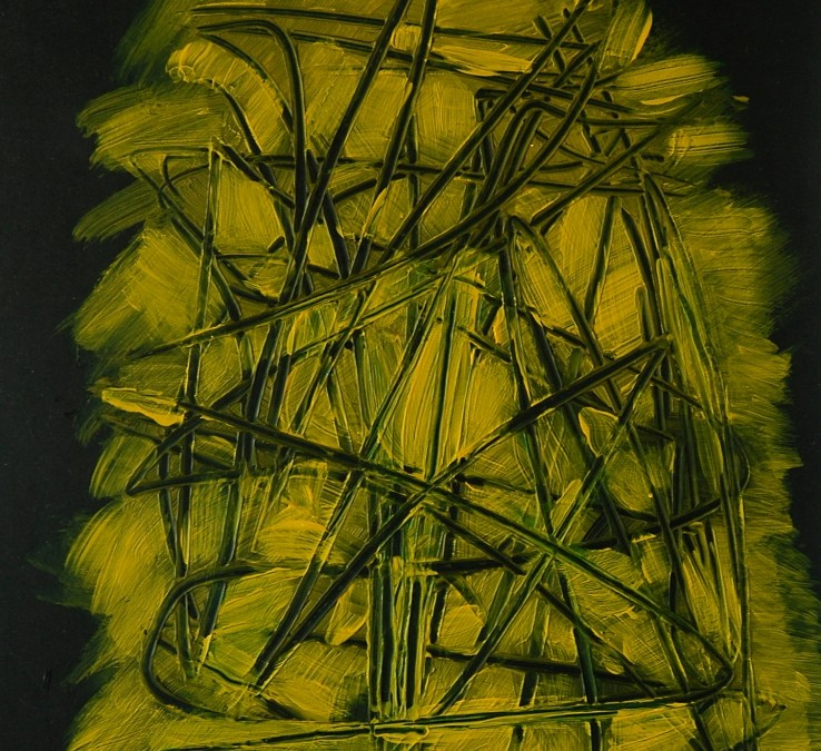 YELLOW BLACK COMPOSITION