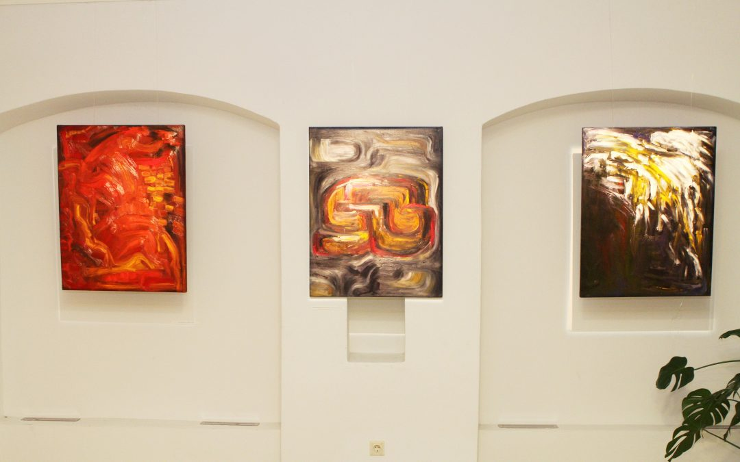 """AFTER THE EXHIBITION """"BE YOURSELF"""" IN THE GALLERY OF LITHUANIAN NATIONAL COMMISSION FOR UNESCO"""