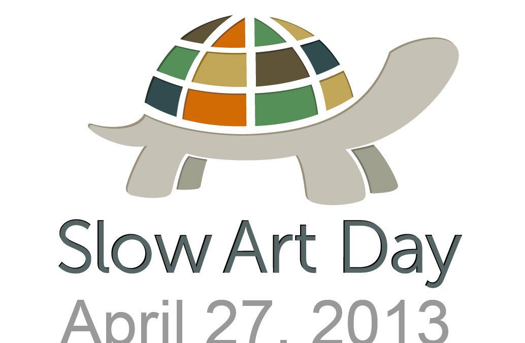 SLOW ART DAY 2013