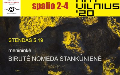 TWO FLORENCE GALLERIES PRESENT BIRUTĖ NOMEDA STANKŪNIENĖ AT ARTVILNIUS 2020